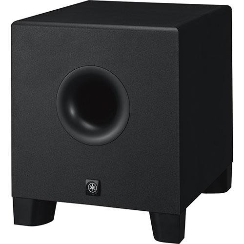 Haut-parleur d'extrêmes graves amplifié de 8 po de Yamaha (HS8S) - Noir