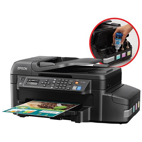 Imprimante à jet d'encre tout-en-un sans fil WorkForce EcoTank d'Epson (ET-4550)