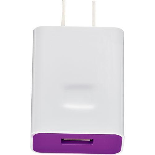 Chargeur USB mural d'Insignia (NS-MAC7U-C) - Violet