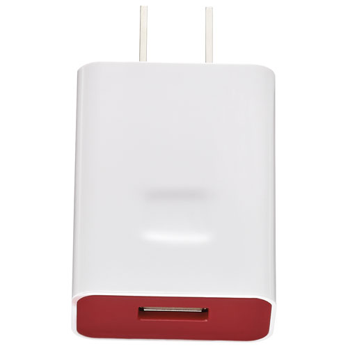 Insignia USB Wall Charger (NS-MAC6U-C) - Red