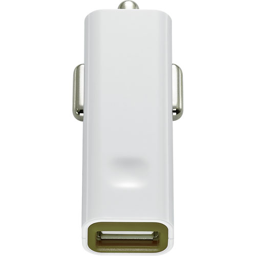 Insignia USB Car Charger (NS-MDC8U-C) - Green