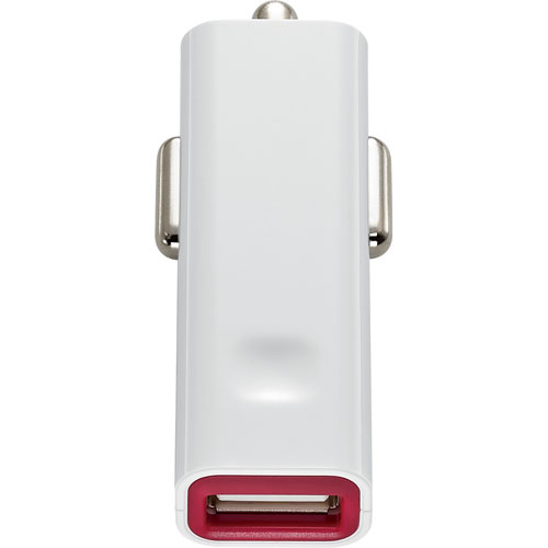 Insignia USB Car Charger (NS-MDC6U-C) - Red