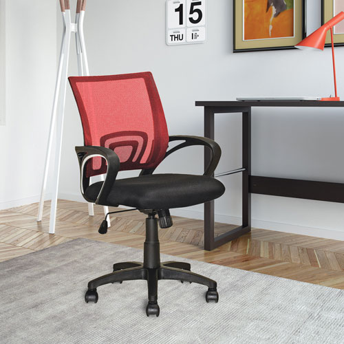 corliving mid back task chair red office chairs best buy canada. Black Bedroom Furniture Sets. Home Design Ideas