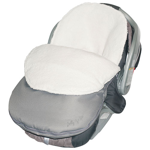 Jolly Jumper Cuddle Bag/ Head Hugger - Grey : Car Seat Accessories ...