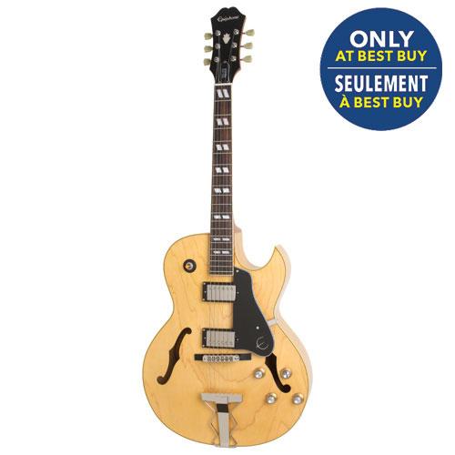 Guitare électrique haut de gamme ES-175 d'Epiphone (ET17NANH3) - Naturel