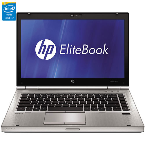 EliteBook 14 po de HP - Arg. (Core i7-2620M d'Intel/DD 320 Go/RAM 4 Go/Win 8.1) - Ang - Remis à neuf