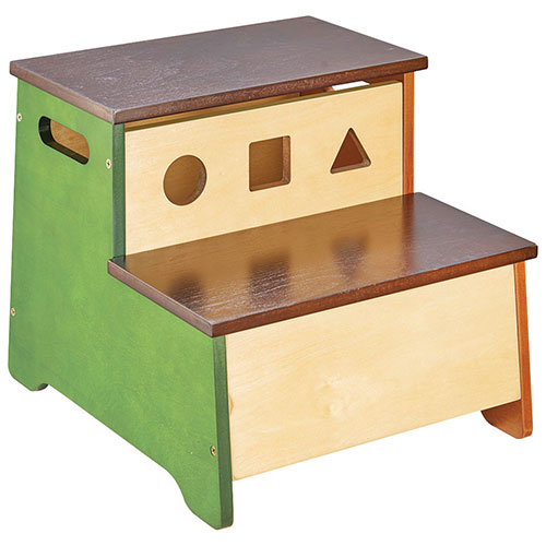 See And Store Step Stool With Storage   Multi Colour : Step Stools   Best  Buy Canada