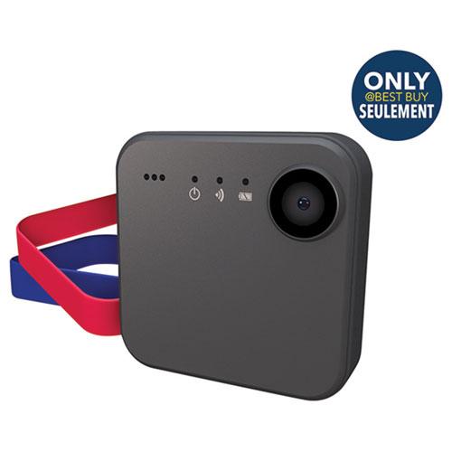 Caméra HD Wi-Fi portative SnapCam Lifestyle d'iON - Noir