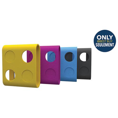 iON SnapCam Lite Skinz Rubber Bumper - 4 Pack - Multi-colour