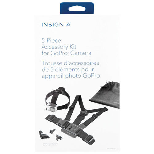 Insignia 5-Piece Accessory Kit for GoPro (NS-DGPK05-C)