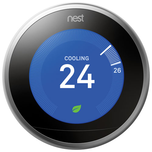 Thermostat intelligent Wi-Fi 3e génération Nest Learning