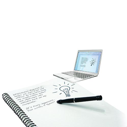 IRIS IRISNotes Express 2 Digital Pen Scanner for Windows