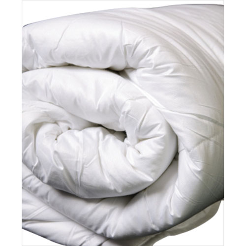 Douillette en soie de luxe sans allergie à contexture de 200 de LuxeportZEN - Grand lit - Blanc