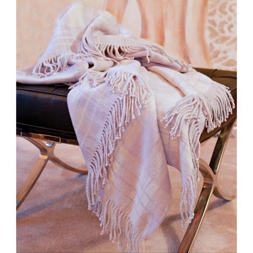 Luxeport Collection Silk Fleece Throw - Violet