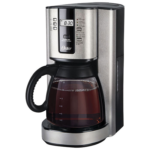 Oster Coffee Maker Troubleshooting : Oster 12-Cup Programmable Coffeemaker (BVSTTJX37-033) - Stainless Steel/ Black : Coffee Makers ...