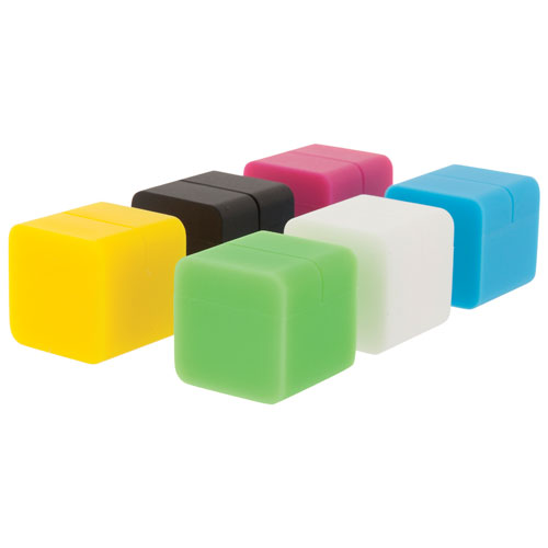 Insignia Silicone Photo Cube (NS-DCUBE06S-C) - 6 Pack - Assorted