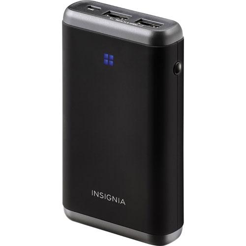 Chargeur portatif de 7800 mAh d'Insignia - Noir