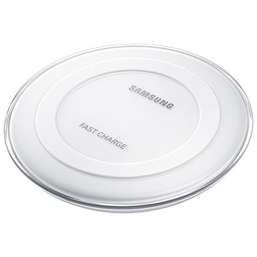 Tapis de chargement sans fil de Samsung à recharge rapide Qi (EP-PN920BWEGCA) - Blanc