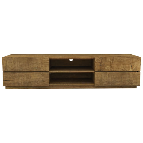 "Urban Woodcraft Catania 75"" TV Stand - Natural Wood"