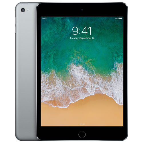 Apple iPad mini 4 128GB With Wi-Fi & 3G/4G/4G LTE - Space Grey