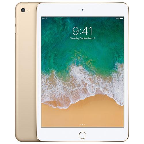 iPad mini 4 de 128 Go d'Apple avec Wi-Fi et connectivité LTE 3G/4G/4G - Doré