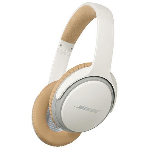 Casque d'écoute sans fil SoundLink II avec micro de Bose - Blanc