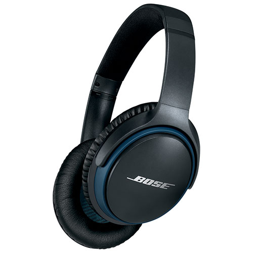 9bc8c41f474 Bose SoundLink II Over-Ear Wireless Headphones with Mic - Black | Best Buy  Canada