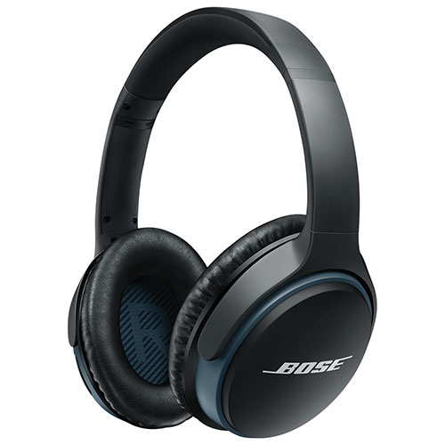 928e2fed22e Bose SoundLink II Over-Ear Wireless Headphones with Mic - Black | Best Buy  Canada