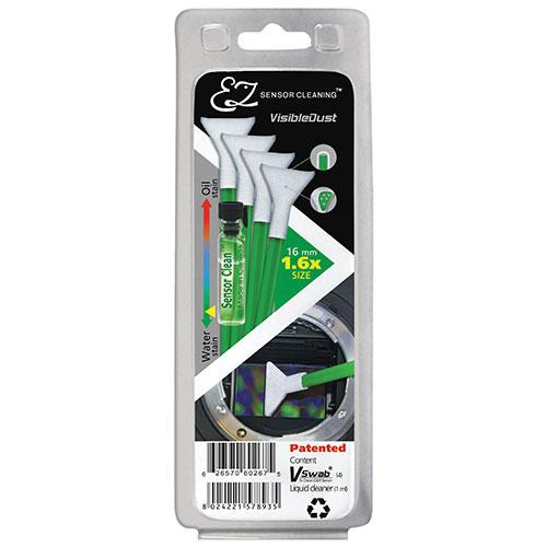 Trousse nettoyage capteur embouts Vswab MXD-100 1.6x et nettoyant liquide VDust Plus de VisibleDust