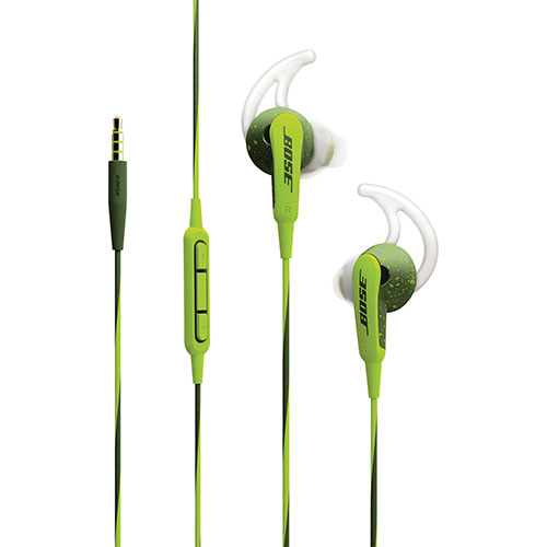 43fd2440047 Bose SoundSport In-Ear Sport Headphones with Mic (Apple) - Green ...