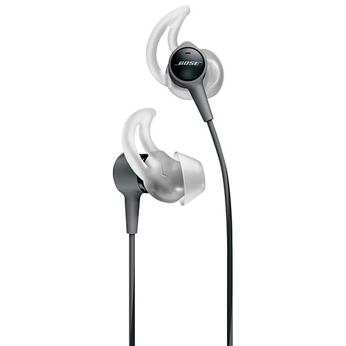 e058677f265 Bose SoundTrue Ultra In-Ear Headphones with Mic (Apple) (BOSE ST ULTRA  BLACK MFI) - Charcoal   Earbuds   In-Ear Headphones - Best Buy Canada