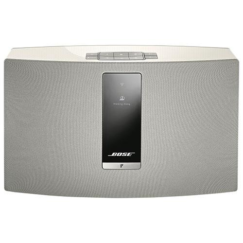 Haut-parleur multipièce sans fil SoundTouch 20 III de Bose - Blanc