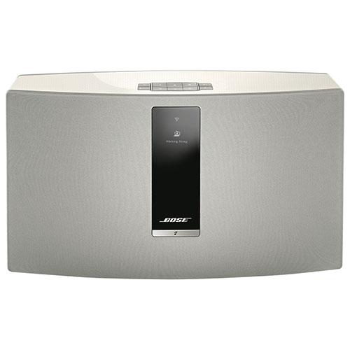 Haut-parleur multipièce sans fil SoundTouch 30 III de Bose - Blanc