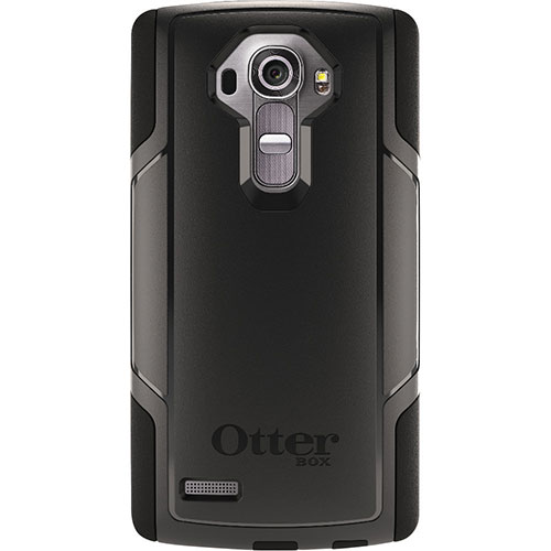 OtterBox Commuter LG G4 Fitted Hard Shell Case - Black