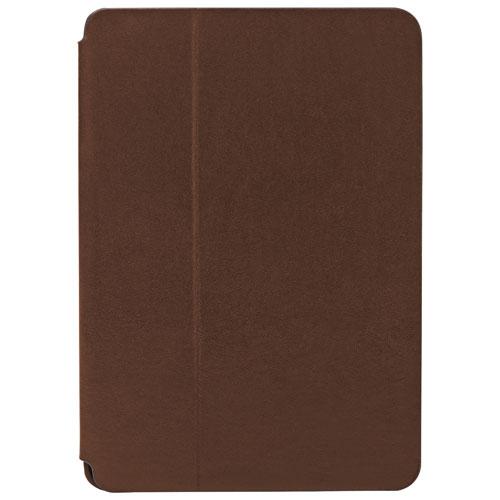 Étui-chevalet de Fossil pour iPad mini - Brun