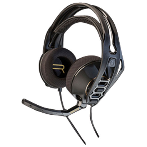 Plantronics RIG 500HD Gaming Headset with Microphone - Black