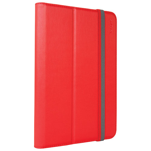 Étui folio Safe Fit de Targus pour iPad mini 1/2/3/4 (THZ59303GL) - Rouge