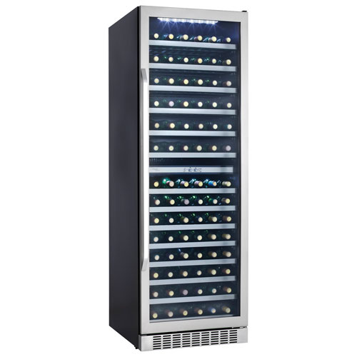 Silhouette Select 146-Bottle Wine Cooler - Black