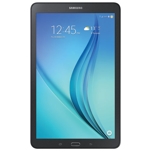 samsung galaxy tab e 9 6 16gb android 5 0 lollipop tablet black android tablets best buy. Black Bedroom Furniture Sets. Home Design Ideas