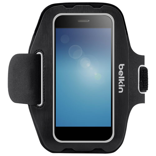 Belkin Universal Smartphone/MP3 Player Armband - Small - Black