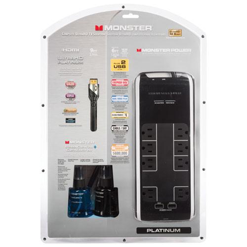 Ensemble avec câble HDMI Platinum de 2,7 m (9 pi) de Monster