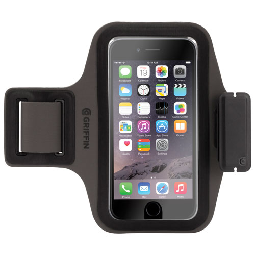 Griffin Trainer Plus iPhone 6/6s Armband Case - Black/Grey