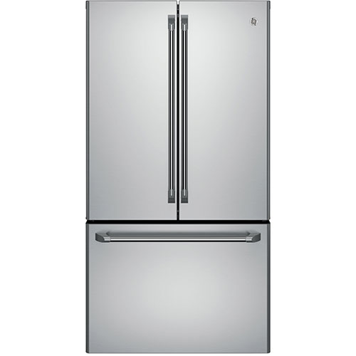 "GE 35.75"" 23.1 Cu. Ft. French Door Refrigerator (CWE23SSHSS) - Stainless Steel"