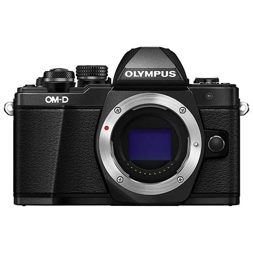 Olympus E-M10 Mark II Mirrorless Camera (Body Only) - Black