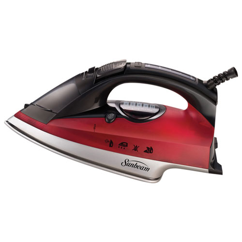 how to use sunbeam steam master iron