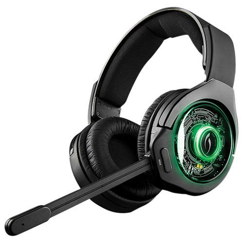 Casque d'écoute sans fil à suppression du bruit Afterglow 9 de PDP pour Xbox One - Noir