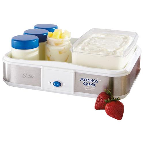 Oster Mykonos Greek Yogurt Maker (CKSTYM1010-033) - White