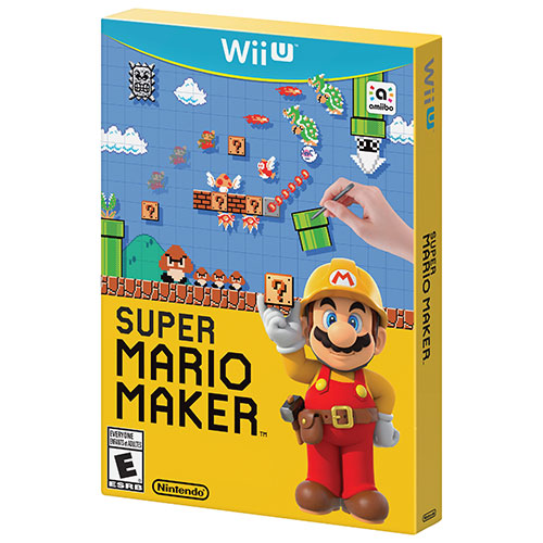 Super Mario Maker (Wii U) - Jeu usagé