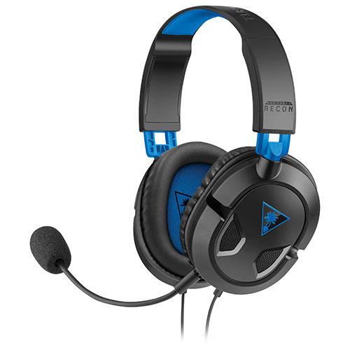 Casque d'écoute EAR FORCE Recon 50P de Turtle Beach pour PlayStation 4 - Noir