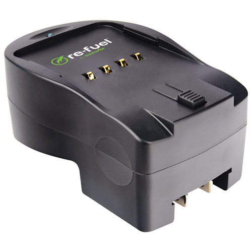 Re-Fuel Lithium-Ion Battery Charger for Canon Digital Camera Batteries (RF-DSLR-500C)